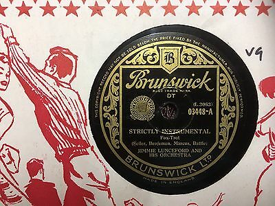 Jimmie Lunceford 'Strictly Instrumental / Knock Me A kiss' Brunswick 78RPM