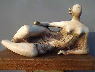 Maquette based on HENRY MOORE's Reclining Woman No.2 of 1980.
