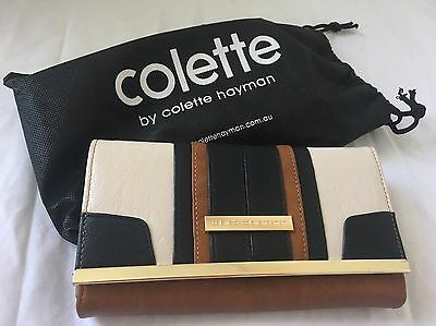 "Colette ""MIRA Panelled Wallet"" NEW"
