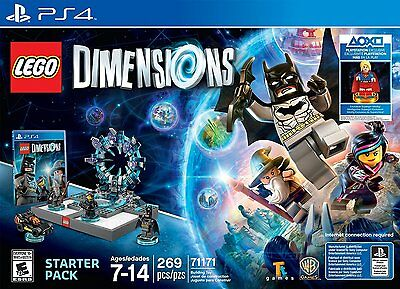 LEGO Dimensions Starter Pack 71171 - PS4 NO Supergirl minifigure
