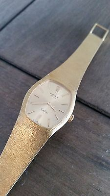 ROLEX LADIES 18 K SOLID YELLOW GOLD BAND CELLINI 1960's