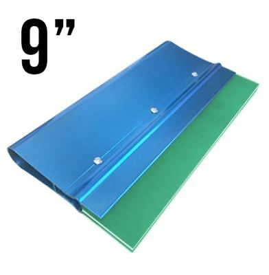 """Screenprinting squeegee handle with 70/90/70 Triple blade 9"""" Anodized Aluminum"""