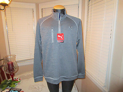 Mens Puma Golf PWR warm elevated 1/4 zip jacket popover Sz M NEW WITH TAGS NWT 3