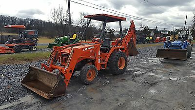 2004 Kubota L35 4x4 Compact Tractor Loader Backhoe. Coming in Soon!