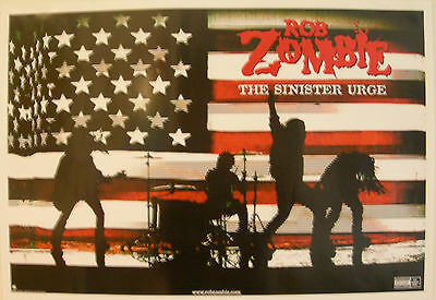 Rob Zombie Sinister Urge Us Promo Poster 2001