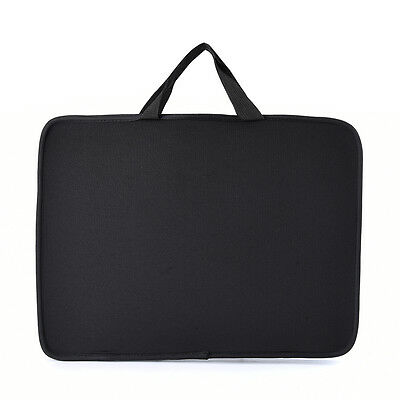 """15.6"""" Stylish Laptop Notebook Sleeve Bag Case Cover Skin for Dell Sony HP Black"""