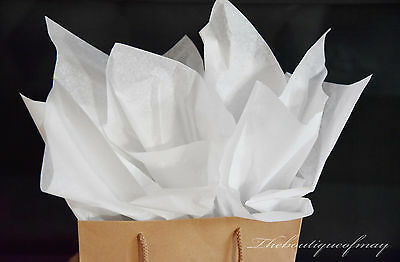 "HALLMARK 26"" X 20"" Solid White Tissue Paper - 100 Sheets Gift Wrap Package"