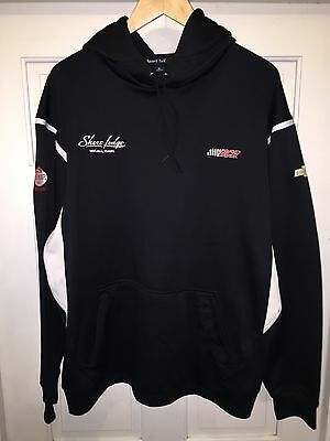 XL RCR Pit Crew NascarTeam Issued Hoodie Crew Sweatshirt Childress Dillon