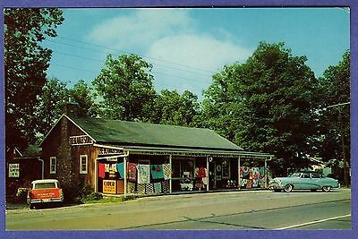 15697 THE BLANKET STORE Pleasant View Tennessee Tourist Stop Chrome Postcard
