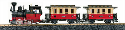 LGB G Scale Passenger Starter Set With Smoke & Sound #72302 ~ TS