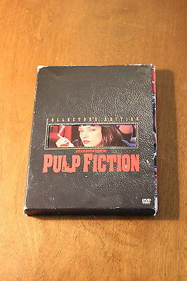Pulp Fiction Collector's Edition SIGNED by Phil Lamarr DVD Cover Autograph