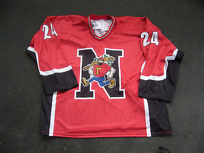 NANAIMO TIMBERMEN # 24 LACROSSE JERSEY Adult 2XL made by Adidas