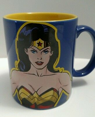 Wonder Woman Mug Warner Brothers 2000