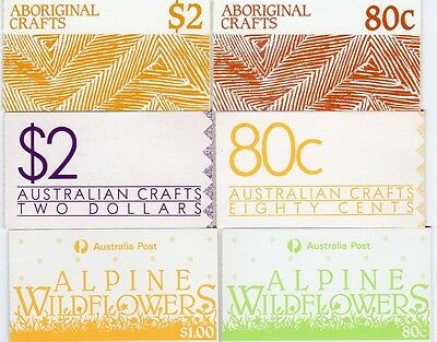 Australia - stamp booklets from 1980's.