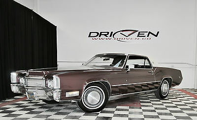 1970 Cadillac Eldorado  outhern California Blue Plate 76k mi Garage Kept and well maintained VIDEO