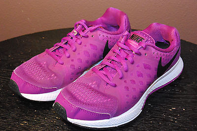 Nike Zoom Pegasus 31 - Girls Athletic Shoes - Size 3.5 Y - Purple