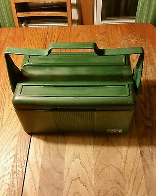 STANLEY LUNCH BOX COOLER 2 Chamber. 12/91.