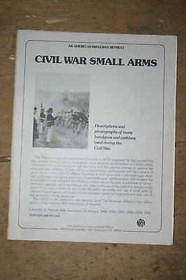 NRA civil war small arms paperback
