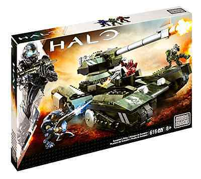 Building Playset Mega Bloks Toy Halo Scorpion Sting 616 Pieces with 3 Figures