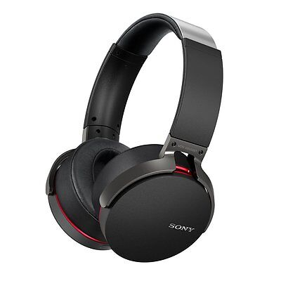 Sony MDR-XB950BT Extra Bass Wireless Bluetooth Headphones with Mic - Black