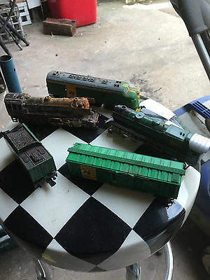 Vintage toy train engine,s and more (will post )