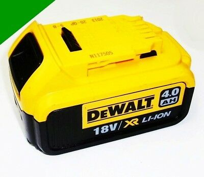Original Dewalt Battery 18 V-Li DCB 182 / 184 mit 4,0 Ah