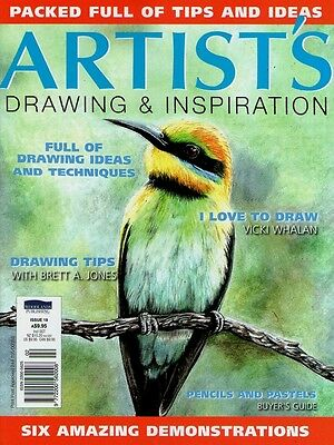 Artist's Drawing & Inspiration Magazine Issue 18. 2015,