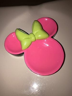 Official Disney Neon Minnie Mouse Trinket Dish