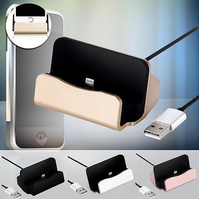 Desktop Charger Docking Station Sync Charger Stand Cradle for iPhone 5/5S/6s MC