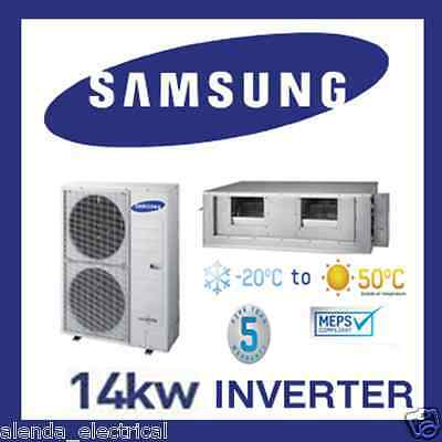 Brand New SAMSUNG 14kw INVERTER Reverse Cycle DUCTED Air Conditioner - FREE WIFI