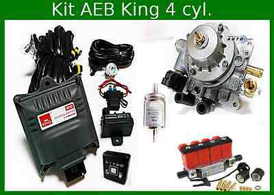Autogas Conversion kit for 4 cylinders AEB King 110 kW / 150 HP LPG (Front End)