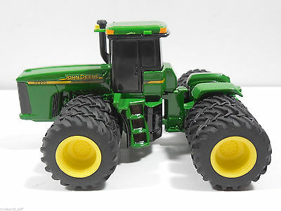 John Deere 9420 4Wd Tractor 2002 With Triples Scale 1/64 Diecast
