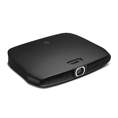 "Zenbility 20-180"" V8 Portable & Slim Black Aluminum Mini Projector"