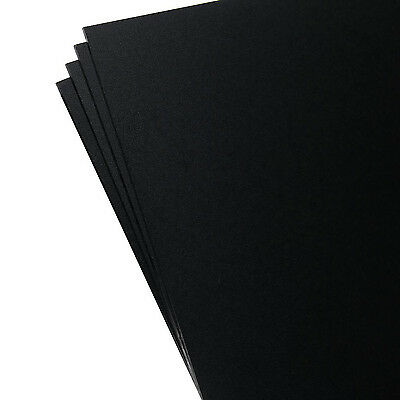 "SIBE AUTOMATION 4 Pack Kydex Plastic Sheet Black 8"" X 12"" X .080"" Durable PVC"