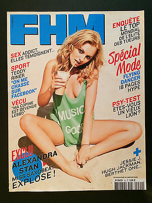 french magazine FHM N°20 alexandra stan vanessa lawrens 2011