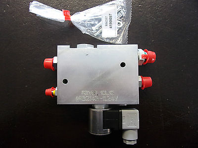 Hydraforce Quick Hitch Valve Block 12V-24V Miller/geith/hill Etc
