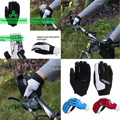 SAHOO Cycling Gloves Full Finger Summer Style Bicycle MTB Road Bike Gloves GT