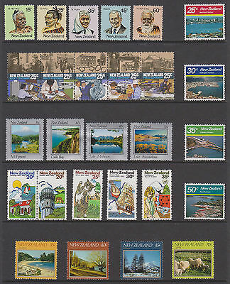 New Zealand - 6 Sets from the 80's (MUH)