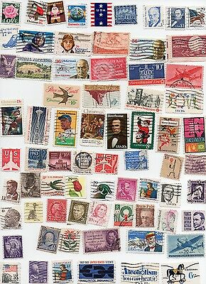USA stamps 280 All Different Off Paper