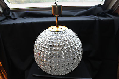 LUSTRE BOULE  disco originale de  1968  ancien SPACE AGE
