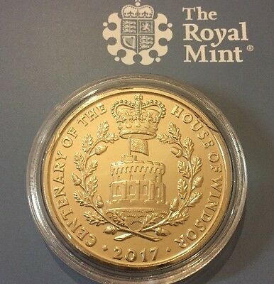 2017 BRAND NEW £5 Coin - HOUSE OF WINDSOR Five Pound - UNCIRCULATED - RARE