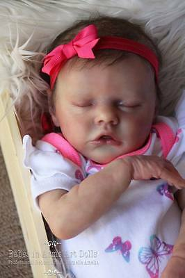 Reborn Baby Girl Twin B by Bonnie Brown by Babes in Arms Art Dolls