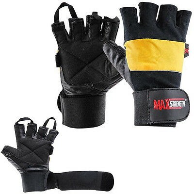 WHOLESALE LOT Gym Body Building Weight Lifting Gloves Exercise Training  Padded
