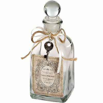 Antique Style French Bottle Jar with Stopper Home Decor