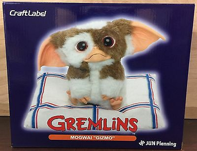 Sideshow Collectibles Craft Label Gremlins Mogwai Gizmo Figure Pillow & Box