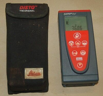 Leica Disto Lite 4 Laser Distance Measure Meter With Case