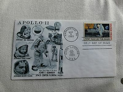 Ersttagsbrief/First Day Cover Apollo 11