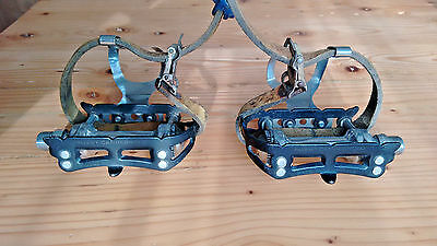 gc campagnolo super record pedals steel black