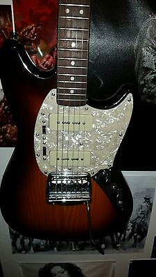 Fender modern player mustang electric guitar great condition