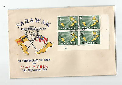 Malaysia 1963 formation private cover